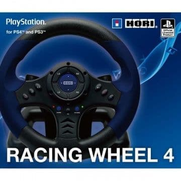 Руль HORI Racing Wheel Controller + педали для PS4